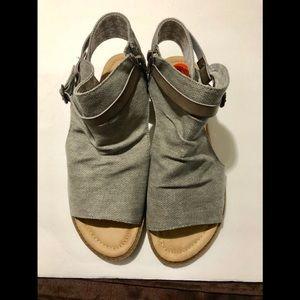 Blowfish grey sandals
